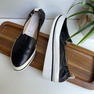 RON WHITE🔴Nell women's slip Ons black Size 7.5
